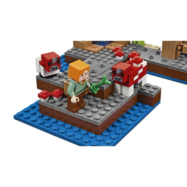 LEGO 21129 Minecraft The Mushroom Island - LEGO Minecraft UK
