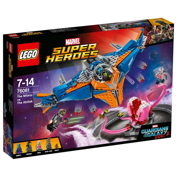 Lego 76081 Marvel Super Heroes Guardians Of The Galaxy The