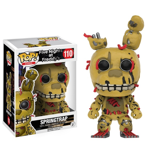 POP! Vinyl: Five Nights at Freddy's Springtrap