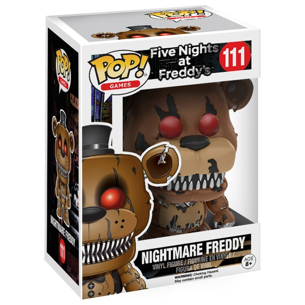 POP! Vinyl: Five Nights at Freddy's Nightmare Freddy