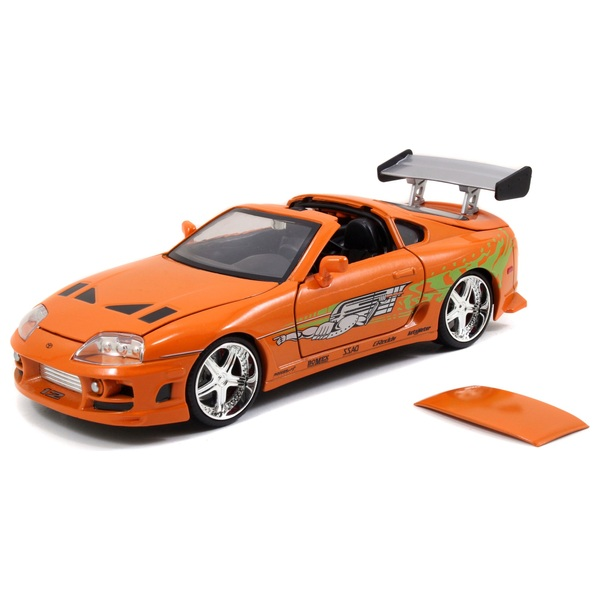 Fast and Furious 1:24 Diecast Toyota Supra