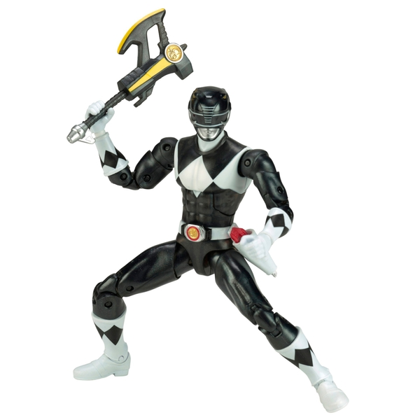 power rangers legacy metallic black ranger figure. Black Bedroom Furniture Sets. Home Design Ideas