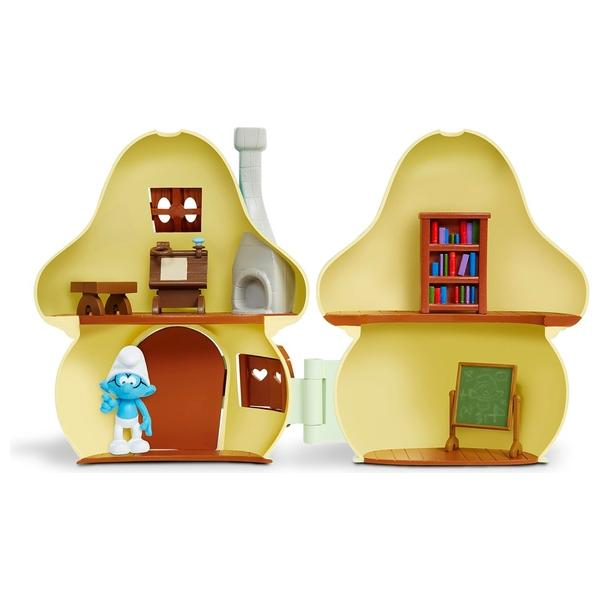 Furniture Village Birstall smurfs the lost village mushroom house brainy smurf - the smurfs uk