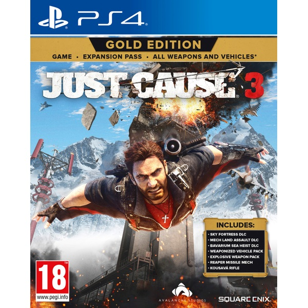 Just Cause 3 Gold Edition Ps4 Playstation 4 Games Uk