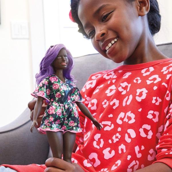 Barbie Fashionista Doll 125 Rosey Dress