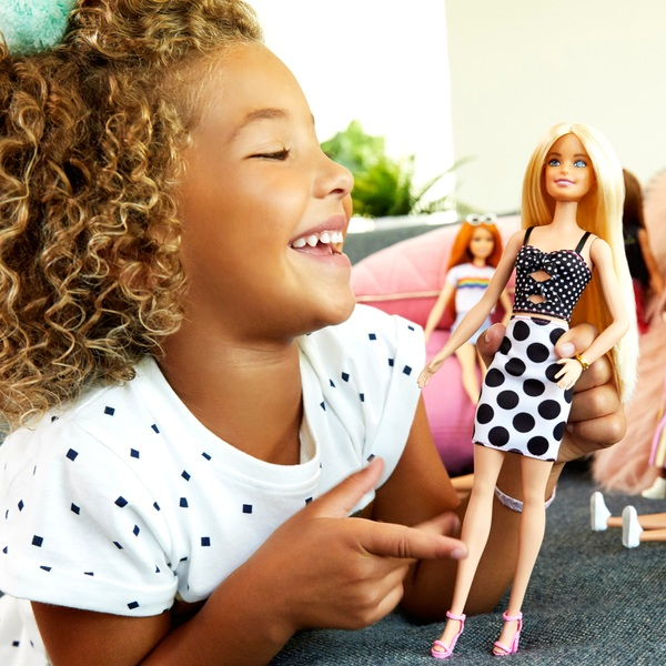Barbie Fashionista Doll Polka Dot Dress