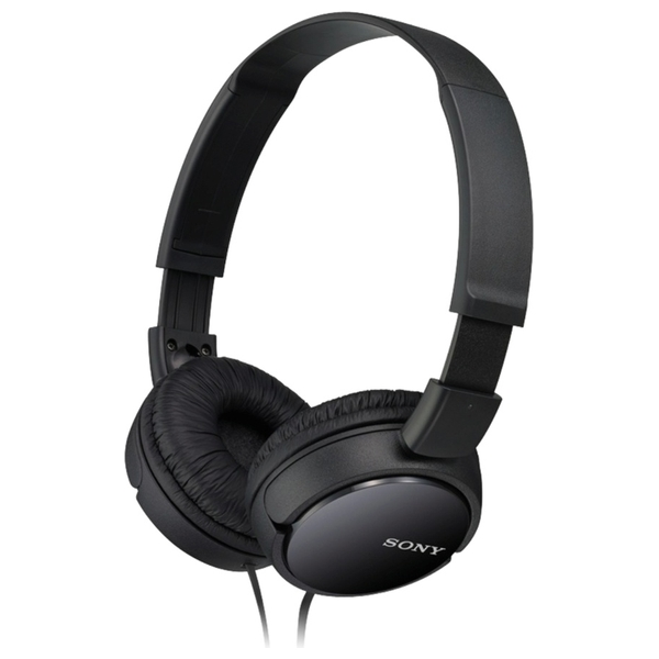 Sony Black Supra-Aural Closed-Ear Headphones