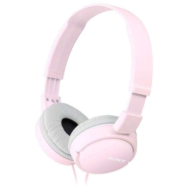 Sony Pink Supra-Aural Closed-Ear Headphones