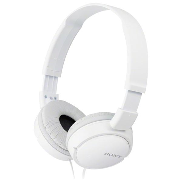 Sony White Supra-Aural Closed-Ear Headphone