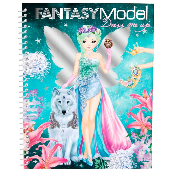A Fantasy Model Dress Me Up Sticker Book