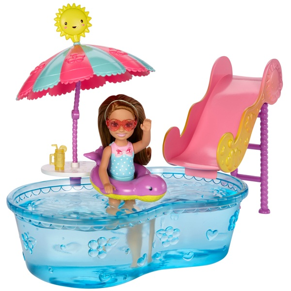 Barbie Club Chelsea Pool And Water Slide Set Barbie Uk