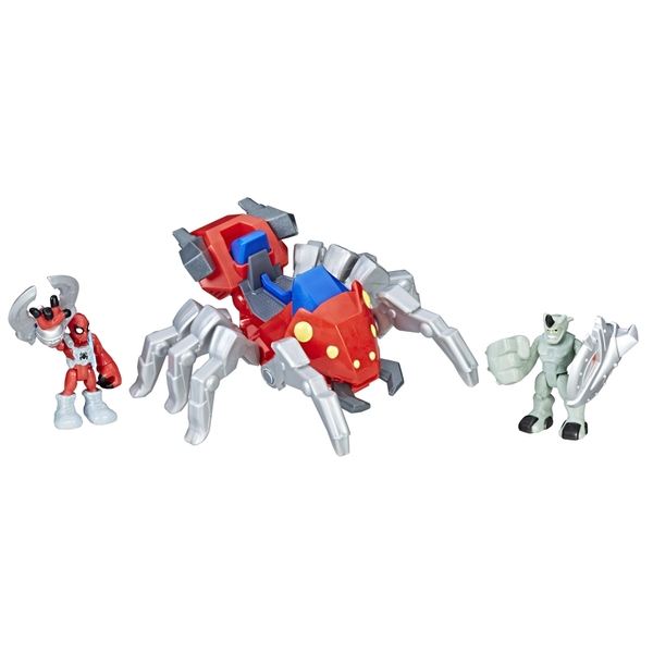 Playskool Heroes Marvel Super Hero Adventures Spider-Man with Spider Bot