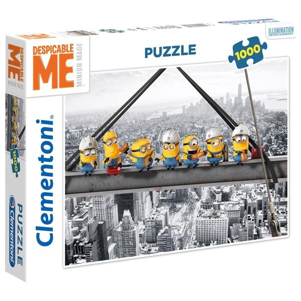 Clementoni Despicable Me 3 Minions Skyscraper 1000 Piece Count Puzzle