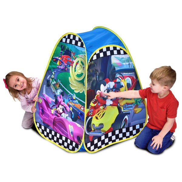Disney Mickey Mouse Roadsters Pop Up Tent  sc 1 st  Smyths Toys & Disney Mickey Mouse Roadsters Pop Up Tent - Play Houses u0026 Tents UK
