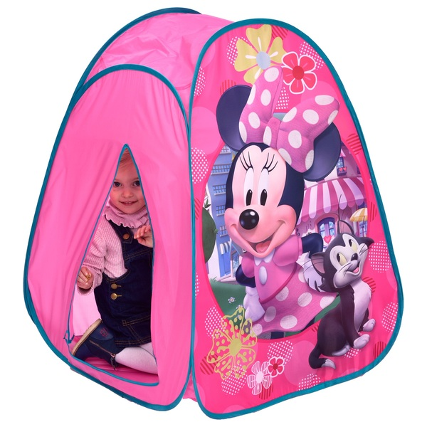 Disney Minnie Mouse Pop Up Tent  sc 1 st  Smyths Toys & Disney Minnie Mouse Pop Up Tent - Play Houses u0026 Tents UK