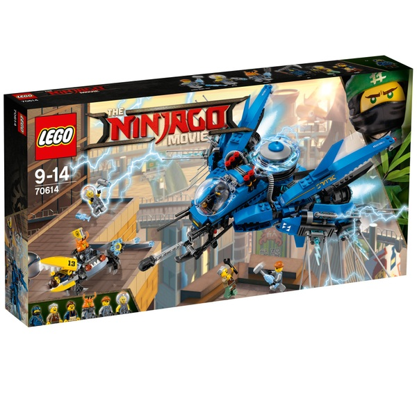 The Lego 70614 Ninjago Movie Jays Lightning Jet Lego Ninjago