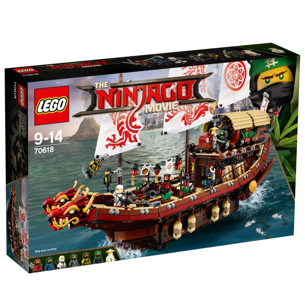 LEGO 70618 Ninjago Destiny's Bounty Boat Toy Building Set