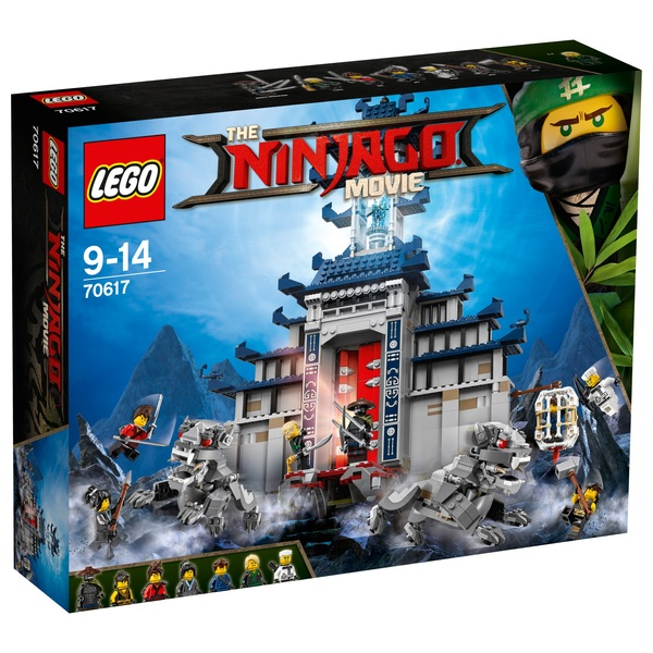 LEGO 70617 Ninjago Movie Temple of The Ultimate Ultimate Weapon