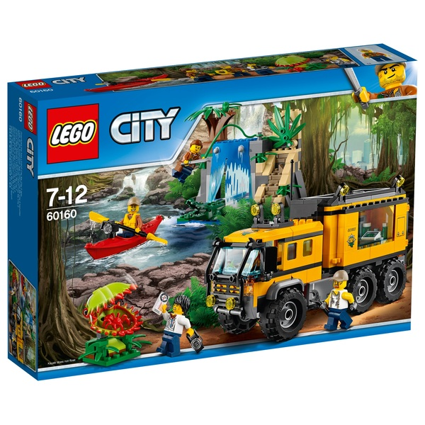 LEGO 60160 City Jungle Mobile Lab Truck Toy