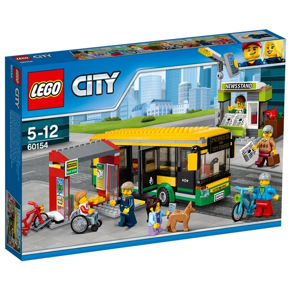 LEGO 60154 City Bus Station Construction Toy