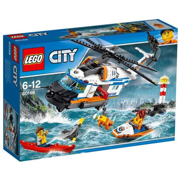 Lego 60166 City Coast Guard Heavy Duty Rescue Helicopter