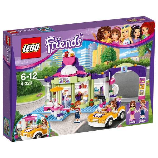 LEGO 41320 Friends Heartlake Frozen Yogurt Shop - LEGO Friends UK