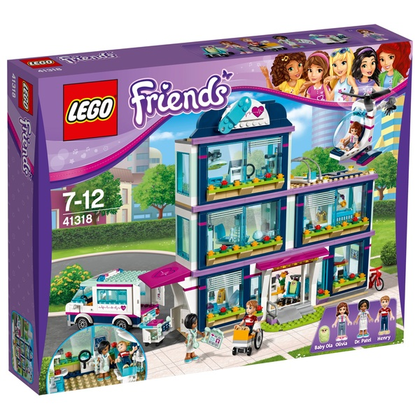LEGO 41318 Friends Heartlake Hospital Toy Construction Set