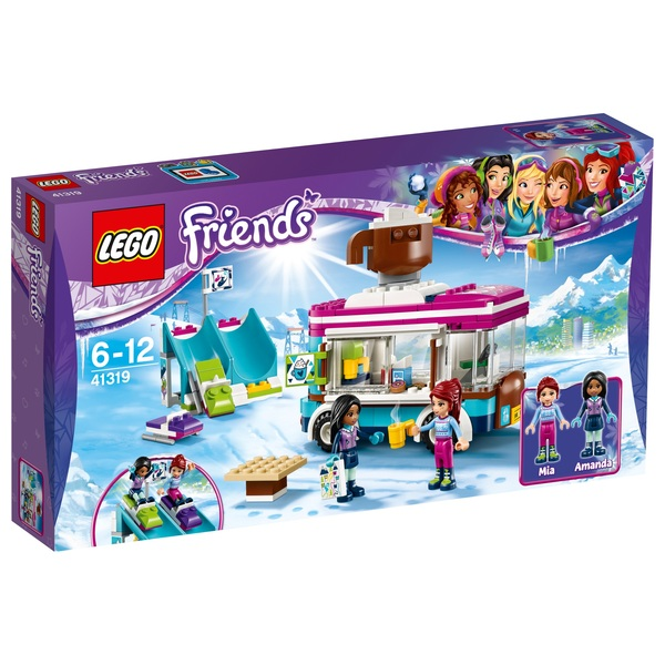 LEGO 41319 Friends Snow Resort Hot Chocolate Van Building Toy