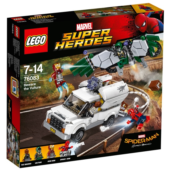LEGO 76083 Marvel Spider Man Beware the Vulture Superhero Toy