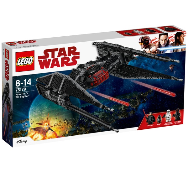 LEGO 75179 Star Wars Kylo Ren's TIE Fighter