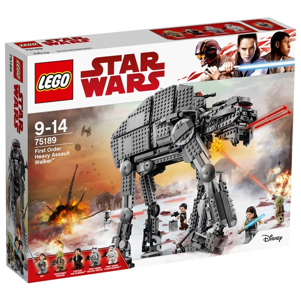 LEGO 75189 Star Wars First Order Heavy Assault Walker Toy