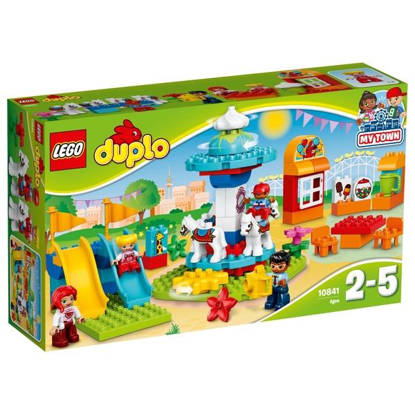LEGO 10841 Duplo Fun Family Fair Brick Construction Toy