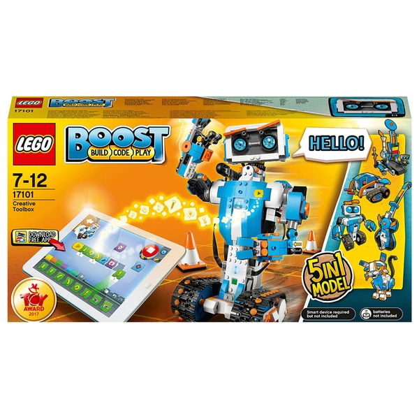 LEGO 17101 Boost Creative Toolbox Robot Coding Robotics Kit