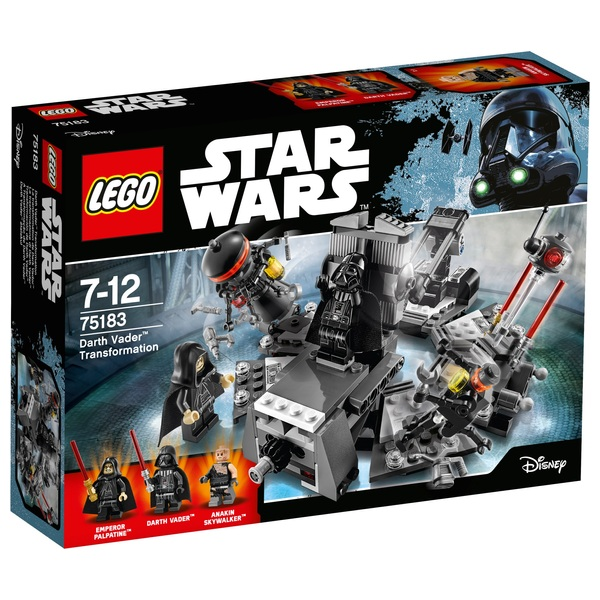 LEGO 75183 Star Wars Classic Darth Vader Transformation
