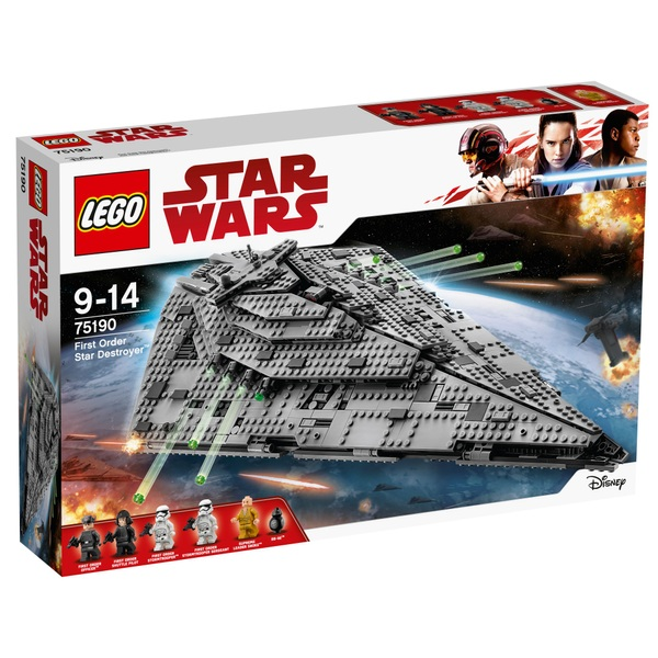 LEGO 75190 Star Wars First Order Star Destroyer Toy