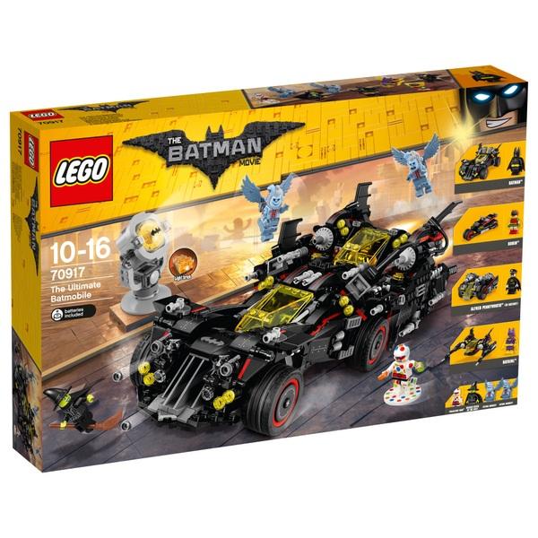 lego 70917 the batman movie the ultimate batmobile lego. Black Bedroom Furniture Sets. Home Design Ideas