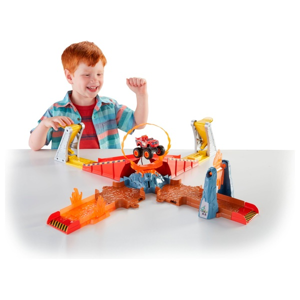 Blaze and the Monster Machines Flaming Volcano Jump