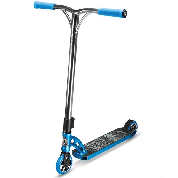 madd gear mgp vx6 team scooter blue    chrome