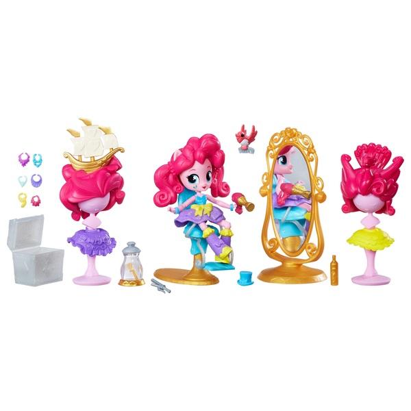 My Little Pony Equestria Girls Minis Pinkie Pie Switch-a-Do Salon Set