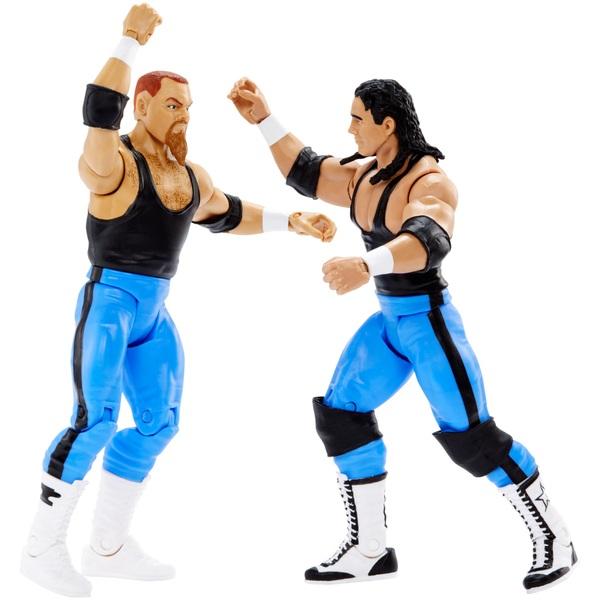 WWE Battle Pack Series 47 Bret Hart & Jim Neidhart