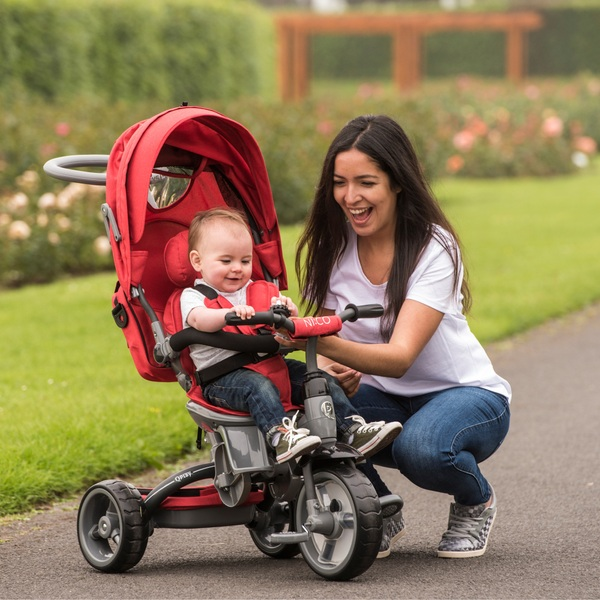 Q Play NI:CO 6-in-1 Trike Red