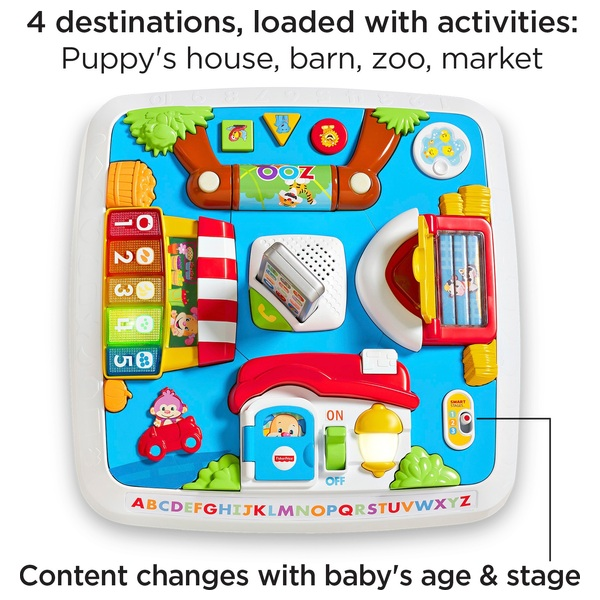 Fisher Price Laugh Learn Around The Town Learning Table Fisher