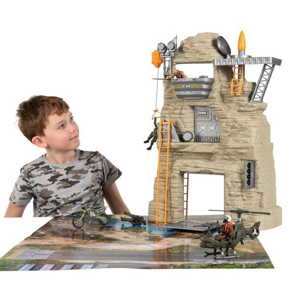The Corps Rock Mountain Stronghold Massive Playset