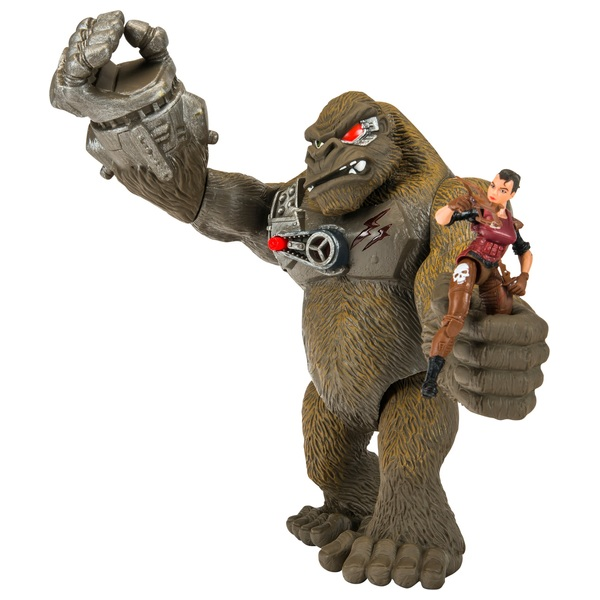 Jurassic Clash Mega Monster Gorilla Playset