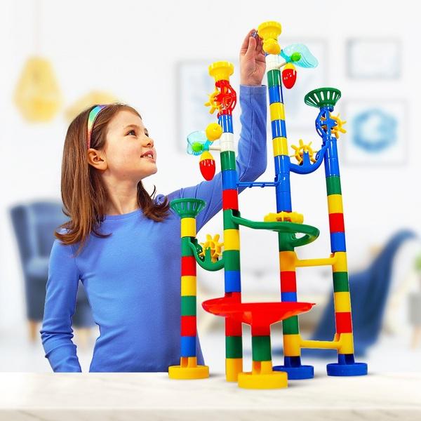 Marbulous Marble Run 80 Piece Game