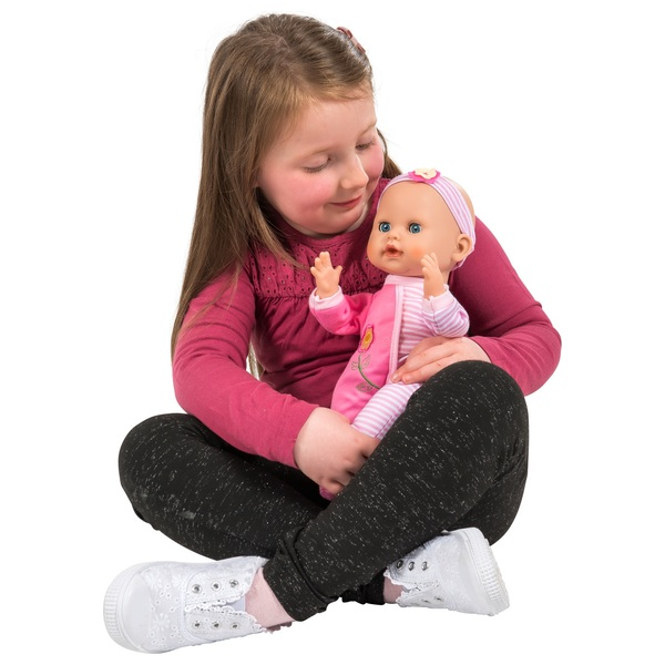 30cm clapping baby doll