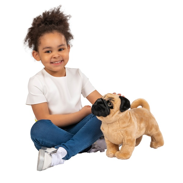 28cm Cooper the Standing Pug Plush