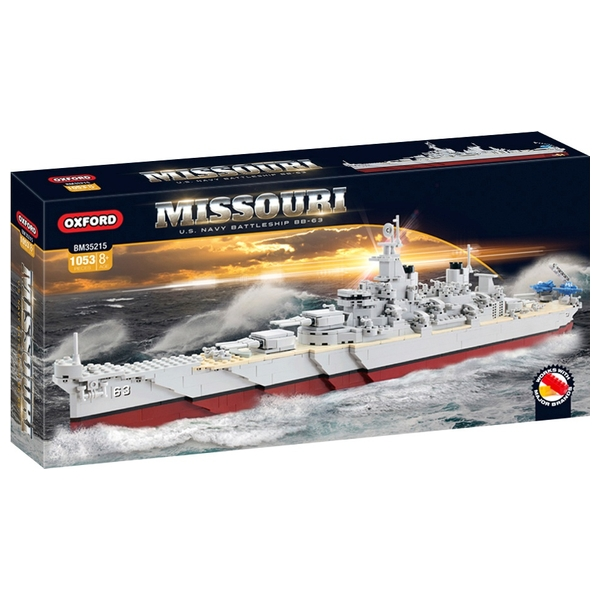 Oxford Missouri U S Navy Battleship Bb 63 Ship Smyths Toys Ireland