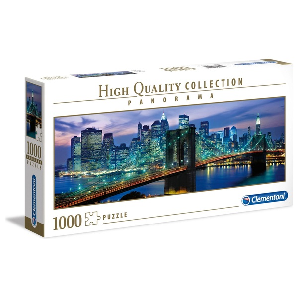 Clementoni Panorama 1000 Piece Puzzle New York Brooklyn Bridge