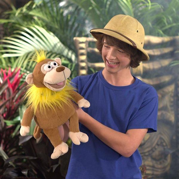Mimic Mees Talk Back Zoo Monkey